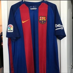 AUTHENTIC Nike FC Barcelona Jersey 16/17 Home Kit